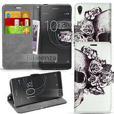 Para Sony Xperia L1 G3311 G3313-Funda Libro Flip Billetera Cuero Estuche + Película
