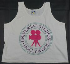 b293c5d9184515 Rare VTG WELLINGTON APPAREL Universal Studios Hollywood Crop Top T Shirt  90s 1SZ