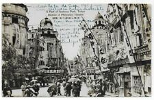 1923 Japan 8sen real photo PC Asakusa Park Tokyo Theatre Esperanto->Australia