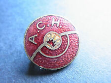 alte Anstecknadeln A.C.H. Automobiel Club Hamburg Auto
