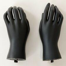 Mn Handsk Pair Of Black Left Amp Right Child Kid Teen Mannequin Hands
