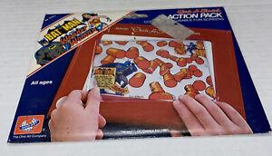 Vintage 1981 Batman and Wonder Woman Etch A Sketch ACTION PACK Complete DC