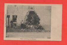 Maison bombardée par les Allemands   (J6519)
