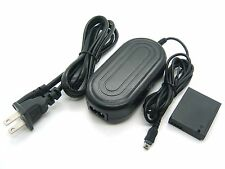 AC Power Adapter DMW-AC5 + DMW-DCC7 DC Coupler For PANASONIC DMC-LX5 DMC-LX7 New