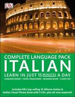 NEW Complete Italian Pack: Learn in Just 15 Minutes a Day .. 9780756692407 by DK