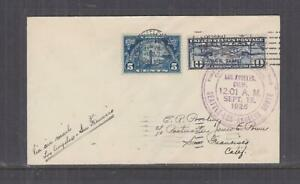 UNITED STATES, 1926 First Flight cover, Los Angeles to San Francisco, Calif.