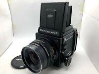 【 NEAR MINT 】MAMIYA RB67 Pro S + SEKOR C 90mm F3.8 + 120 Film Back From JAPAN
