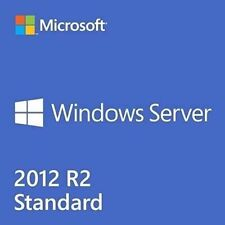Windows Server 2012 R2 Standard - 64BIT Full Version License Plus Download