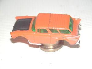 Vintage Aurora Orange AFX 57' Chevy Nomad HO Slot Car Body