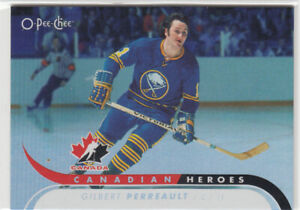OPC O-Pee-Chee  2009-10 - Canadian Heroes - Gilbert Perreault  #CBH9