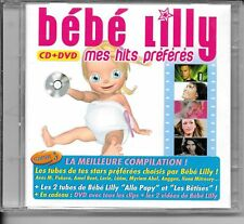 CD COMPIL 17 TITRES + DVD 14 TITRES--BEB LILLY--MES HITS PREFERES