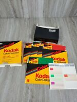 "USED Kodak Color Diskettes MD2-D 2S 2D 5.25 51/4"" 10-Pack"