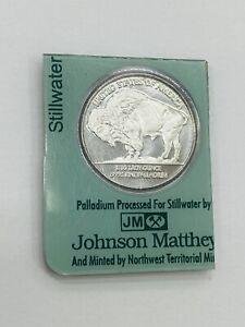 2005 Stillwater Johnson Matthey Lewis Clark 1/10 Oz Proof Palladium Sealed Coin