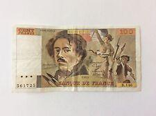 Billet français 100 F France Delacroix 1989 B146 voir Photo