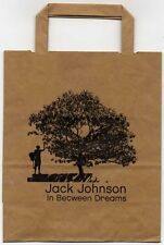 Jack Johnson In Between Dreams Promo Take Away Sandwich Bag