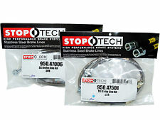 Stoptech Stainless Steel Braided Brake Lines (Front & Rear Set / 47006+47501)