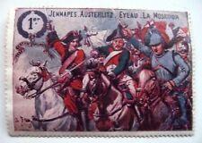 ANCIEN TIMBRE / VIGNETTE DELANDRE / 1er REGIMENT DE CUIRASSIERS