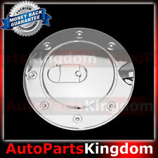 92-99 GMC Yukon+99-01 Cadillac Escalade Triple Chrome Gas Tank Door Fuel Cover