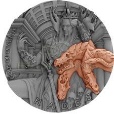 Niue Island 2018 5$ Gods of Olympus - Hades 2oz