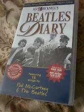 THE BEATLES Alf Bicknell's Diary Double VHS Video Cassette Box set POST FREE