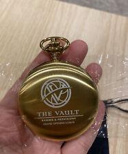 Charles-Hubert, Paris 3780-G Gold-Plated Mechanical Pocket Watch