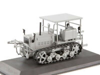 DT-57 Caterpillar Tractor Soviet Farm Vehicle USSR 1960 Year 1/43 Scale HACHETTE
