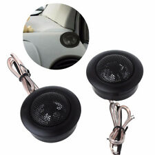 2x 35w High Frequency Super Loud Speaker Car Dome Stereo Tweeter Horn Universal