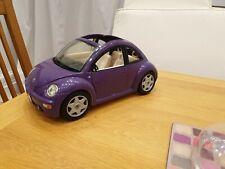 Vintage 2000 Barbie Volkswagen Beetle Bug Cool Purple Car Mattel. Good condition