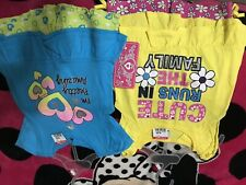 Toddler Girl Lot Size 2t Short Sleeve And Shorts Nwt