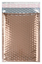"75 #2 Metallic Rose Gold Bubble Mailer - 8.375 x 11.25"" OD: Padded"