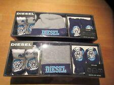 Diesel Baby Bootie Cap Hat Mittens Gift Set 0-6 Months ~~Lot of 2 Sets~~