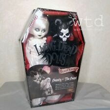 Ldd living dead doll Scary Tales * Beauty And The Beast * set sealed white black