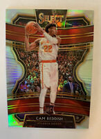 2019-20 Panini Select Concourse Silver Prizm Cam Reddish #96 Rookie RC Hawks NBA