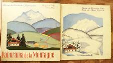 MARIE COLMONT PANORAMA DE LA MONTAGNE  Ill EXTER  albums du PERE CASTOR 1938