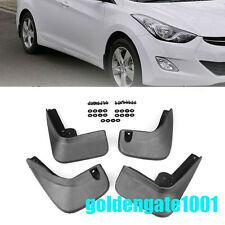 Car Black Mud Flaps Splash Guards Fender For Hyundai Elantra MD Sedan 2012-16 GG