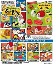 Re-Ment Charlies Brown and Snoopy - School days Miniature Figures Full Set