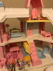 Vintage 1991 Playskool Victorian Dollhouse Loaded Lullaby Light, Tv. family