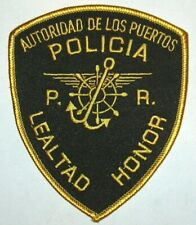 PUERTO RICO PORT POLICE PATCH