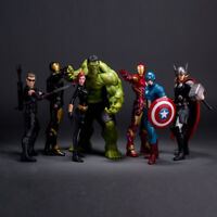 Crazy Toys Avengers 2 Age of Ultron Iron Man Hulk PVC Action Figure Model Toy