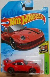 Hot Wheels 2021 HW Exotics 174 1996 96 Porsche GT2 Red Gold GT-2 Red 911 Turbo