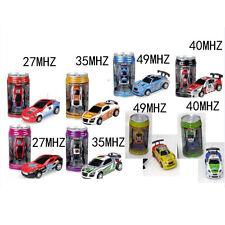 Coke Can Mini Speed RC Radio Remote Control Micro Racing Car Toy Gift New IB