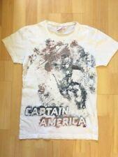 MARVEL Captain America - T-shirt imprimé manches courtes - Taille XS (14/16 ans)