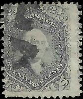 VEGAS - 1861-66 Sc# 78 24c - No Significant Flaws Observed - Cat= $350 - EJ27