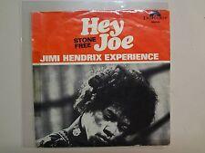 """JIMI HENDRIX EXPERIENCE: Hey Joe- Stone Free-Norway 7"""" 67 Polydor 59061 Mono PSL"""