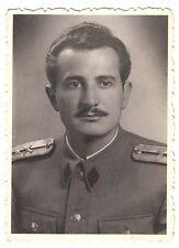FNRY YUGOSLAVIA - YUGOSLAV ARMY - ORIGINAL PHOTO - ARTILLERY OFFICER