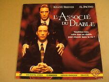 LASERDISC VERSION FRANCAISE / L'ASSOCIÉ DU DIABLE ( KEANU REEVES, AL PACINO )