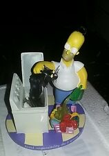 The Simpsons Homer's Secret to Success Hamilton Collection Sculpture # 597A