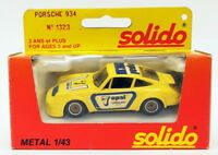 Solido 1/43 Scale Diecast Model Car 1323 - Porsche 934 Racing Car