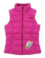 The North Face Women's Nuptse 2 Vest in Pink 1033 Size XS