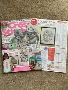 The World Of Cross Stitching Issue 137 2008 With Bonus Chart Included